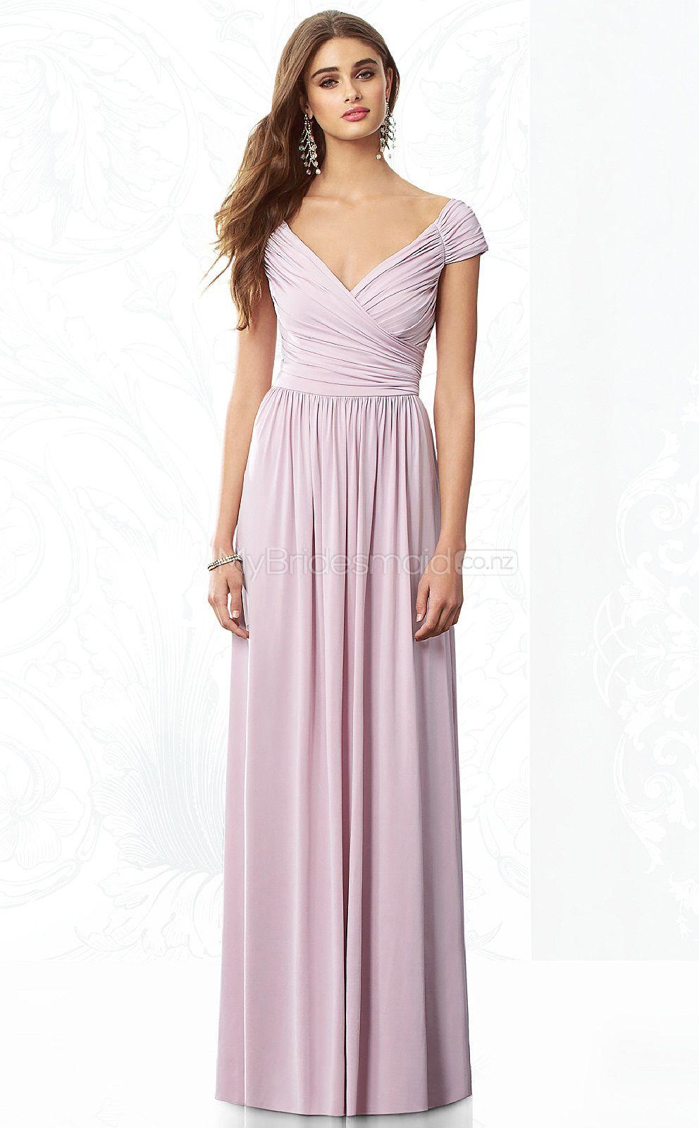 Lilac chiffon a line v neck floor length vintage bridesmaid lilac chiffon a line v neck floor length vintage bridesmaid dresses nzbd06858 ombrellifo Images