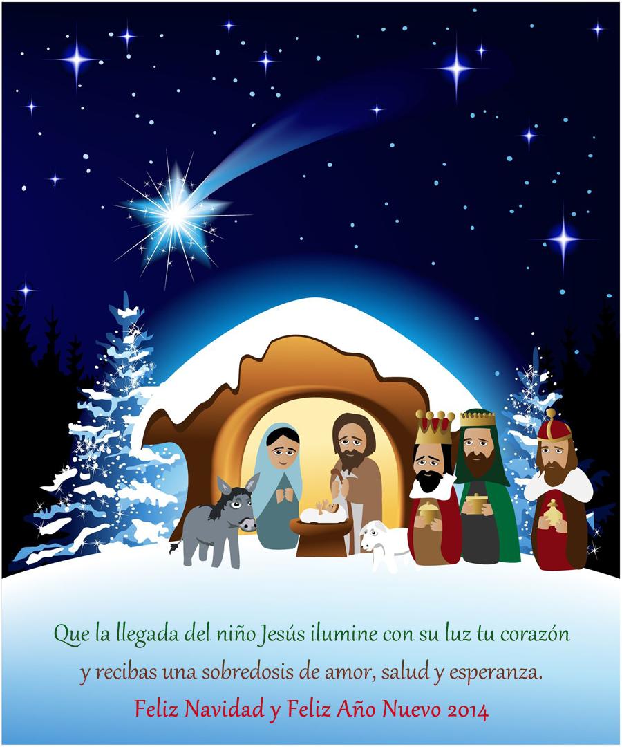Nacimiento de jesus feliz navidad the - Postales de navidad bonitas ...