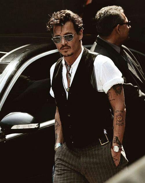 Johnny Depp Inked