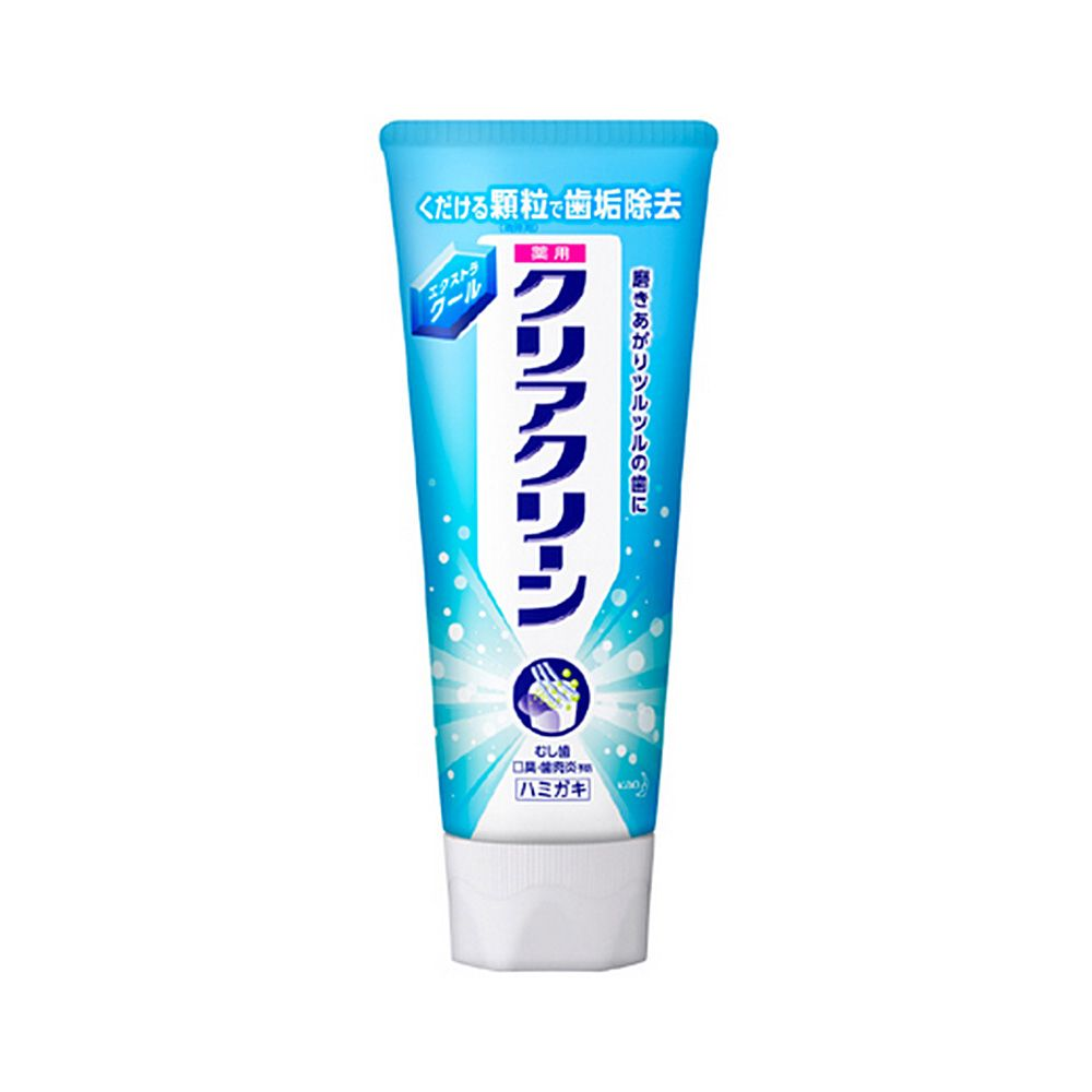 Kao clear clean toothpaste 130g extra cool made in japan