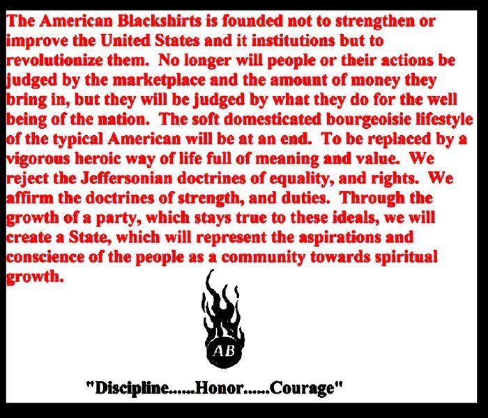 The American Blackshirts   American Blackshirts Portfolio   Pinterest