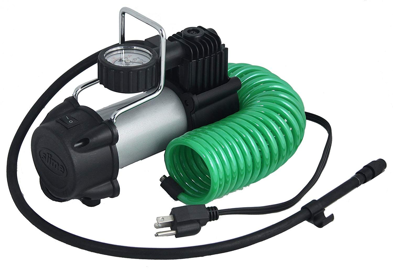 Slime 40045 Direct Drive 120V Tire Inflator with Wall
