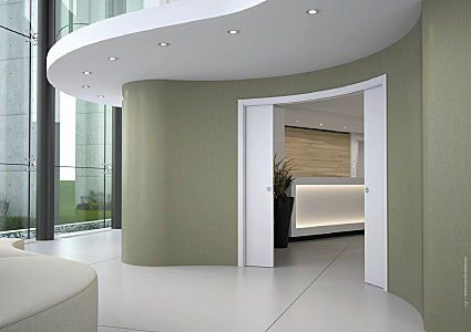 Curved Pocket Door Senior Studio Project Sliding Door