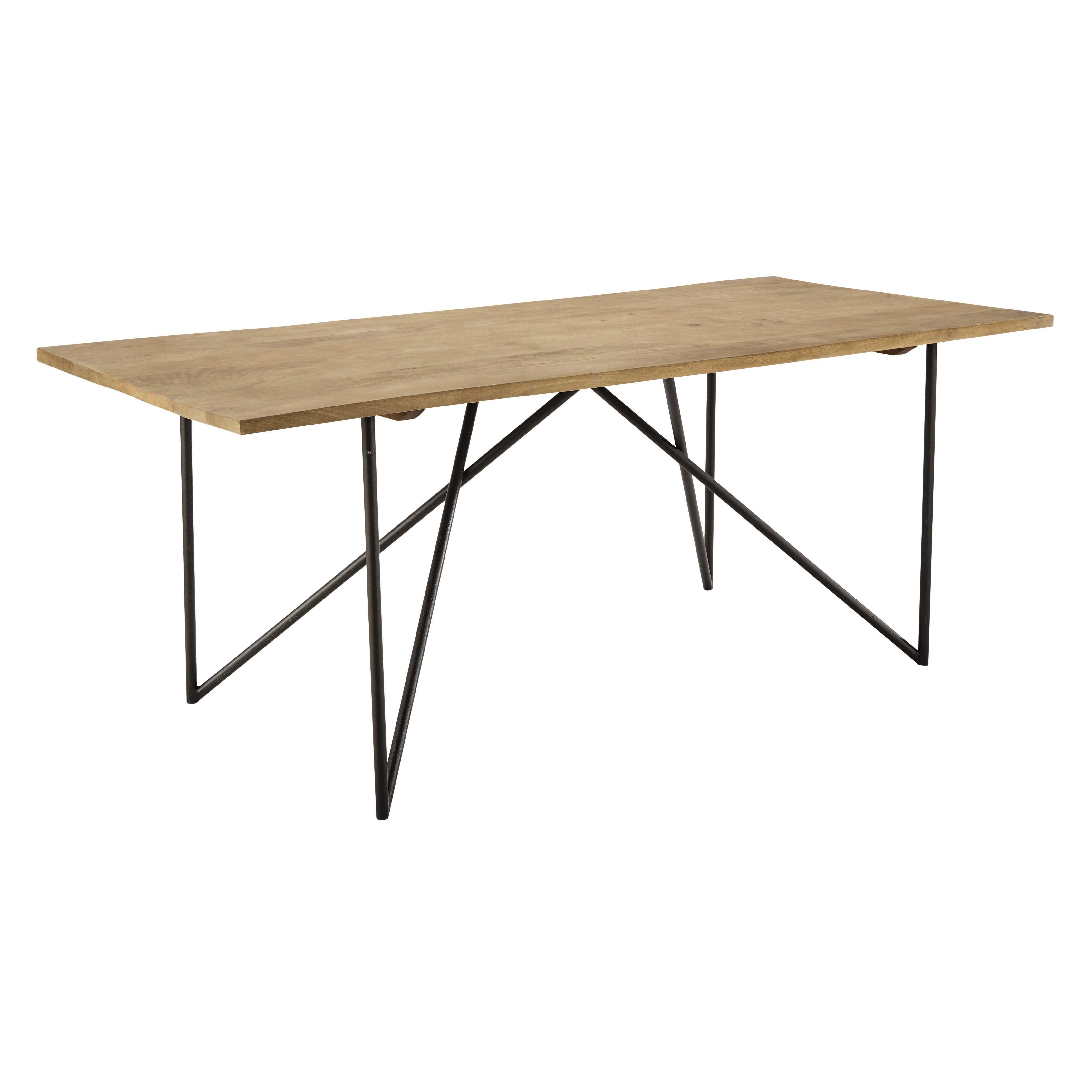 esstisch aus massivem mangoholz b200 home pinterest esstisch tisch und esszimmer. Black Bedroom Furniture Sets. Home Design Ideas
