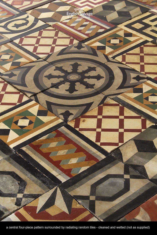 Tiles Decorative Selection Of Decorative Encaustic Tiles  Antique Tiles