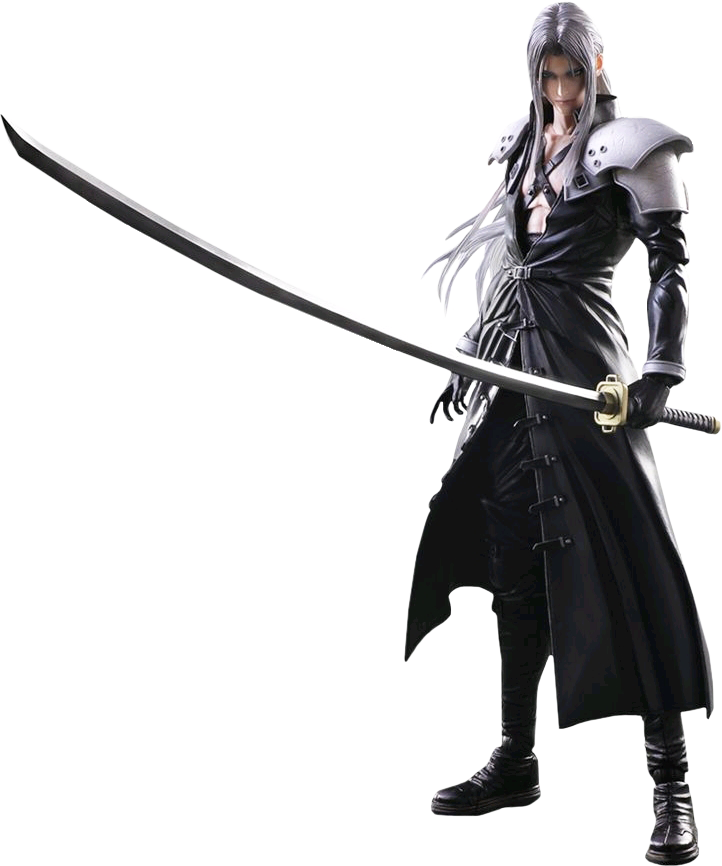 Sephiroth Play Arts Action Figure By Coolzero2a Final Fantasy Collection Final Fantasy Vii Final Fantasy Advent Children