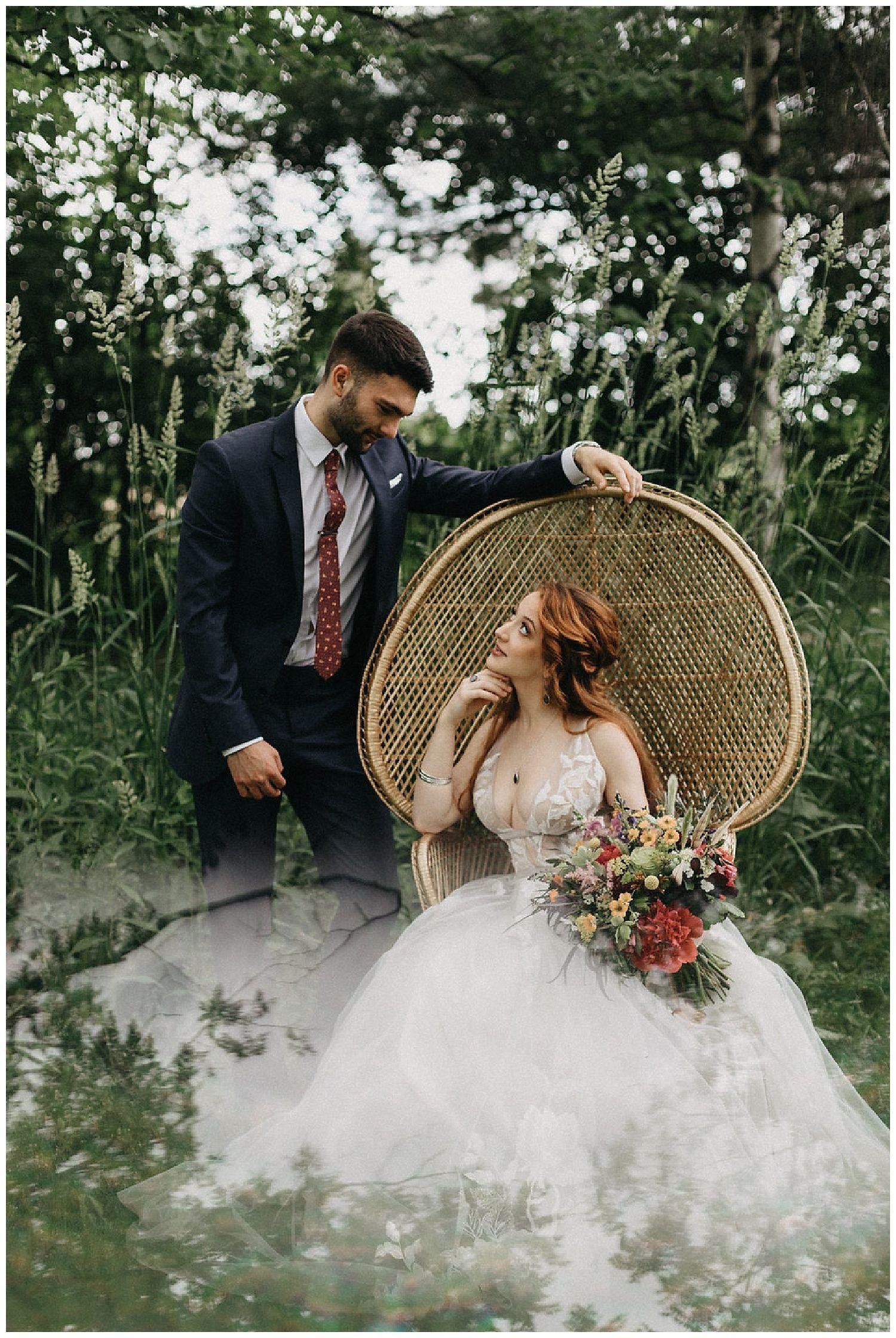 Vintage boho wedding inspiration at aster weddings u hannah