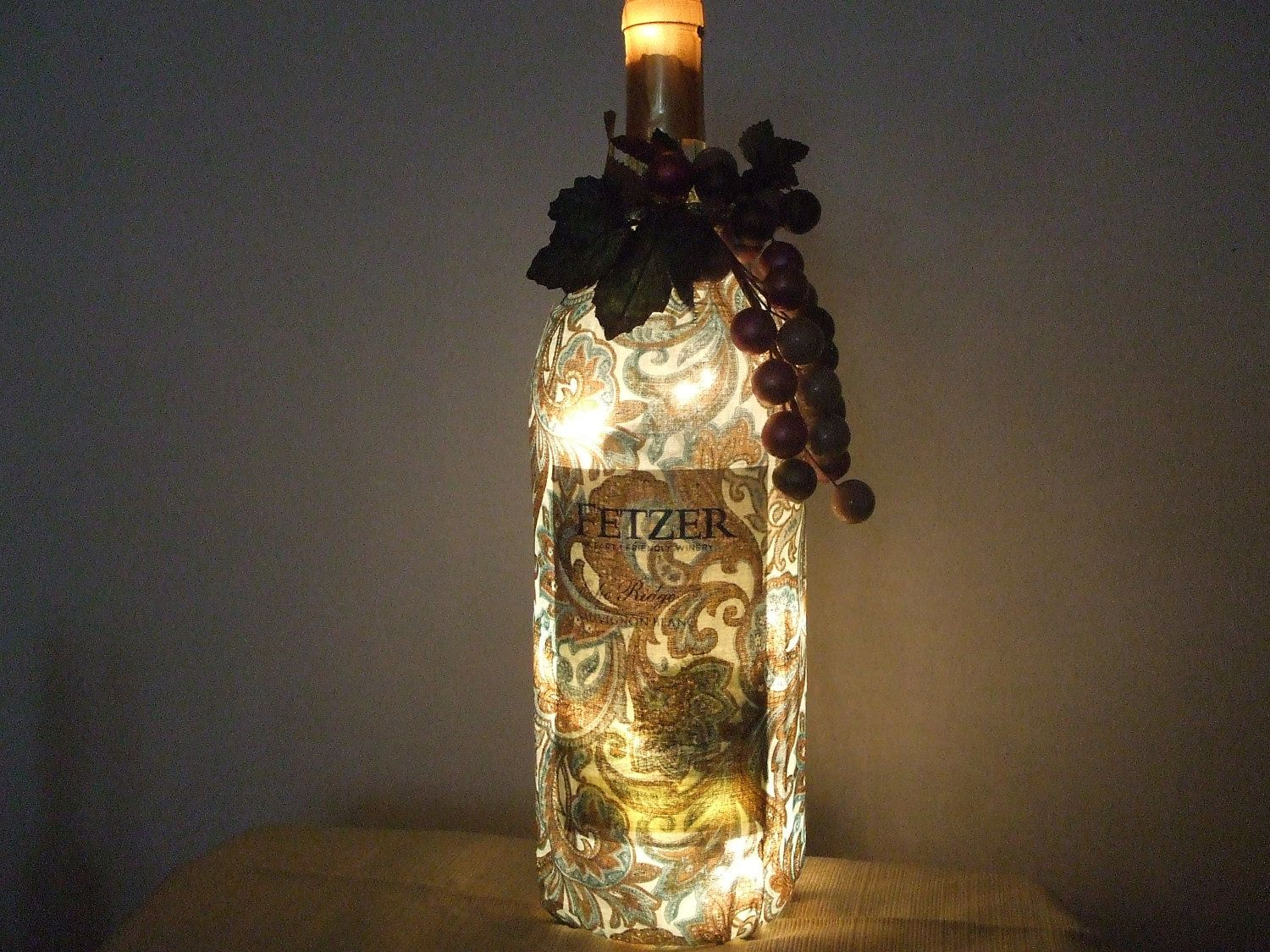 wine bottle lamps Google Search crafts Recycled