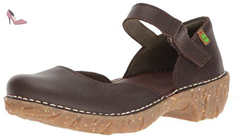 El Naturalista NG50 SOFT GRAIN BROWN / YGGDRASIL Marrone - Chaussures Sandale Femme