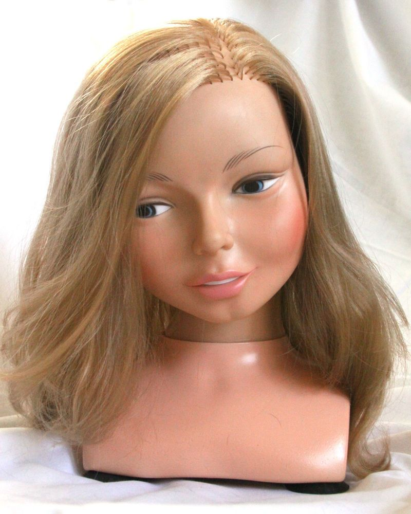 Vtg 1971 Horsman Doll Beauty Parlor Mannequin Styling Head Hair Make Up 1970s #Dolls