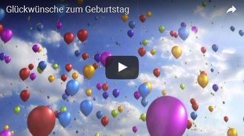 Glückwünsche Zum Geburtstag Geburtstagsvideos Glückwünsche