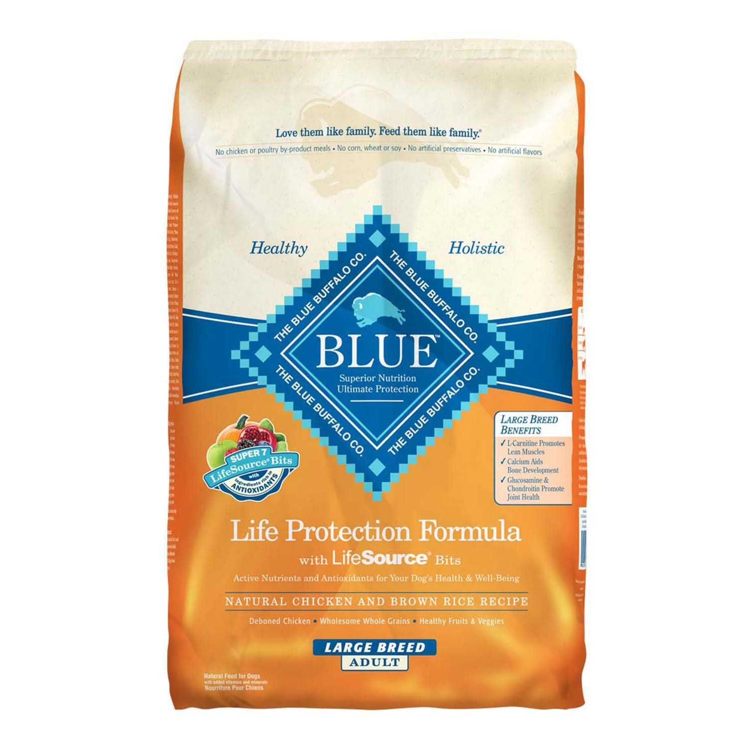 Blue Buffalo Large Breed Chicken & Brown Rice Adult Dog