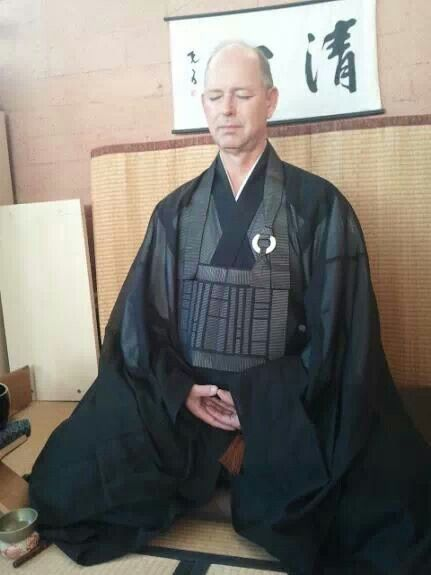 Jyozen Anjyu leads rohatsu sesshin at jizo-an 2012