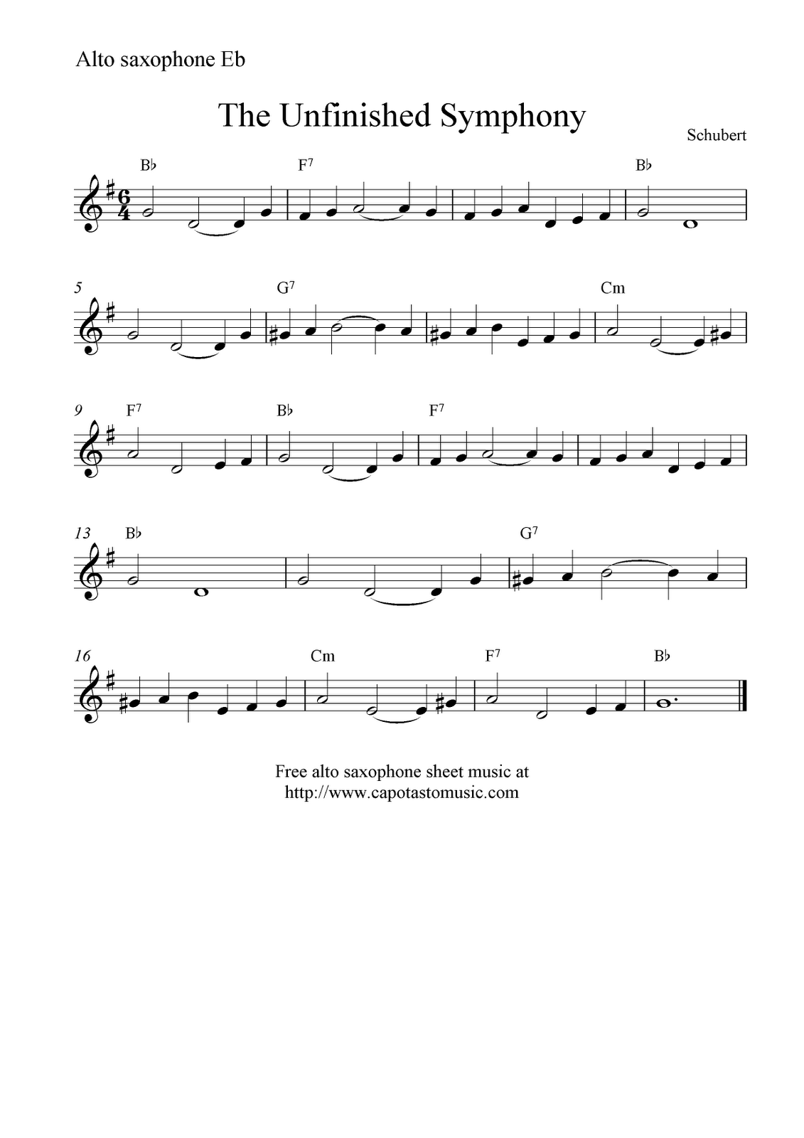 popular alto sax sheet music pdf
