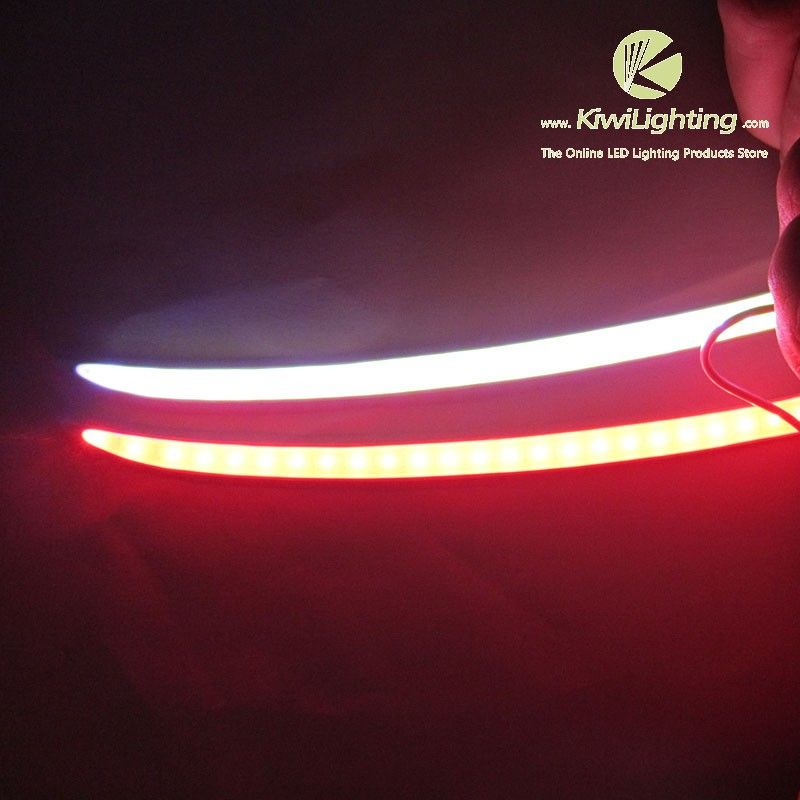 Cob led car brake light strip cob led car brake light strip 24 cob led car brake light strip cob led car brake light strip 24 red leds 24 white leds emits white light when car is running red light while braking aloadofball Gallery