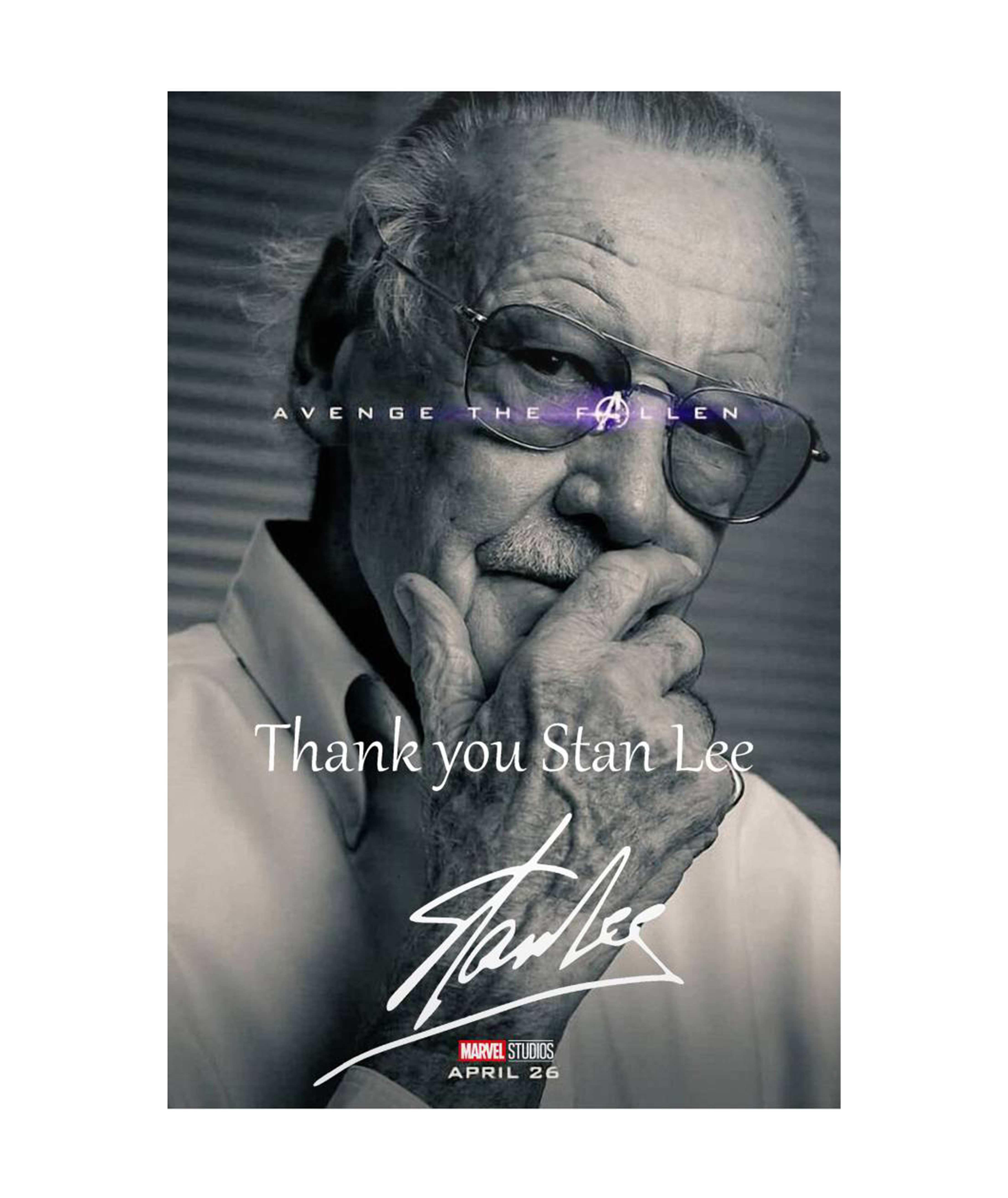 Thank You Stan Lee Stan Lee Stans Lee