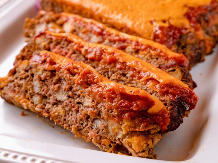Cheeseburger Meatloaf Recipe Food network recipes