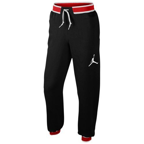 ddadd1dd43740f Jordan The Varsity Sweatpant - Men s - Basketball - Clothing - Black Gym Red  White