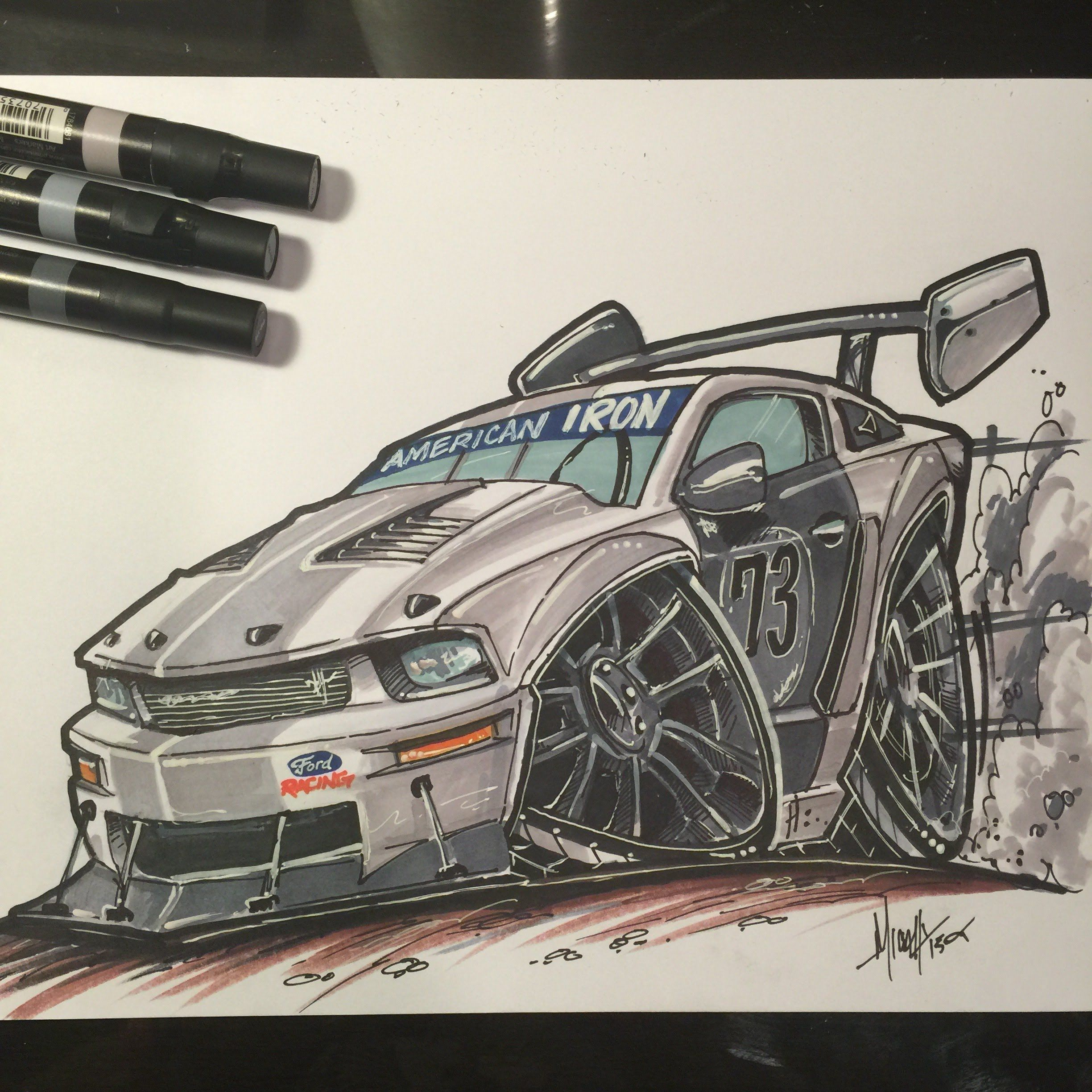 Pictures Of Mustang Side Drawing Logo Drawings How To Draw A Gt Time Lapse My Timelapse