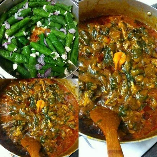 Authentic ekwang cameroon food west african food for Authentic african cuisine