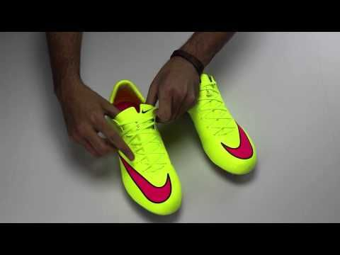 Nike Mercurial Vapor X FG Soccer Cleats - Volt and Pink Review...you can  get this awesome shoe at SoccerPro with free shipping right now! bcddfea62030