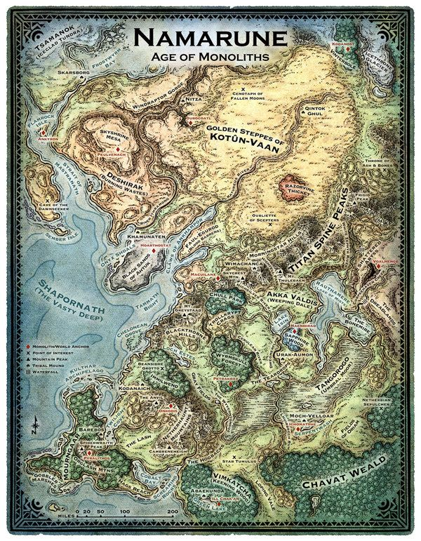 Red Aegis World Map By Mike Schley Via Behance Ink Fairy Tale