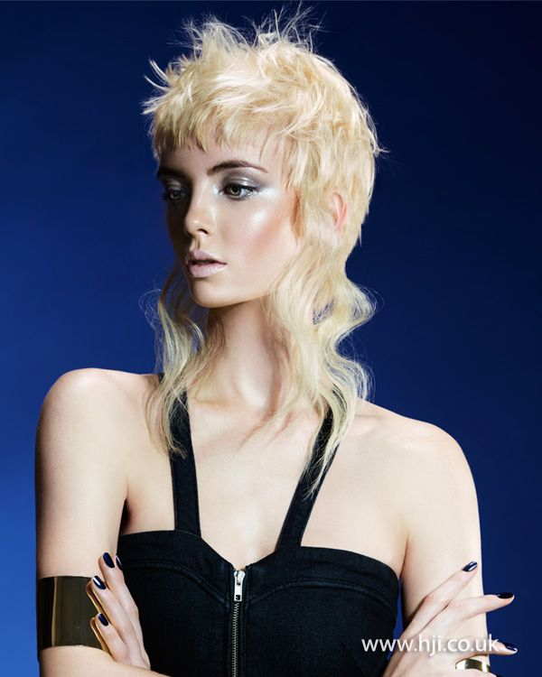 2015 peroxide blonde mullet hairstyle - Hairstyle Gallery