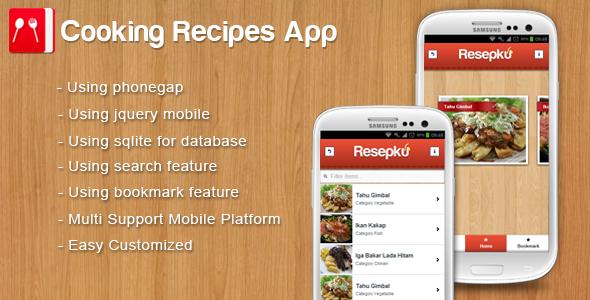 Kitchen recipe app forumfinder Images