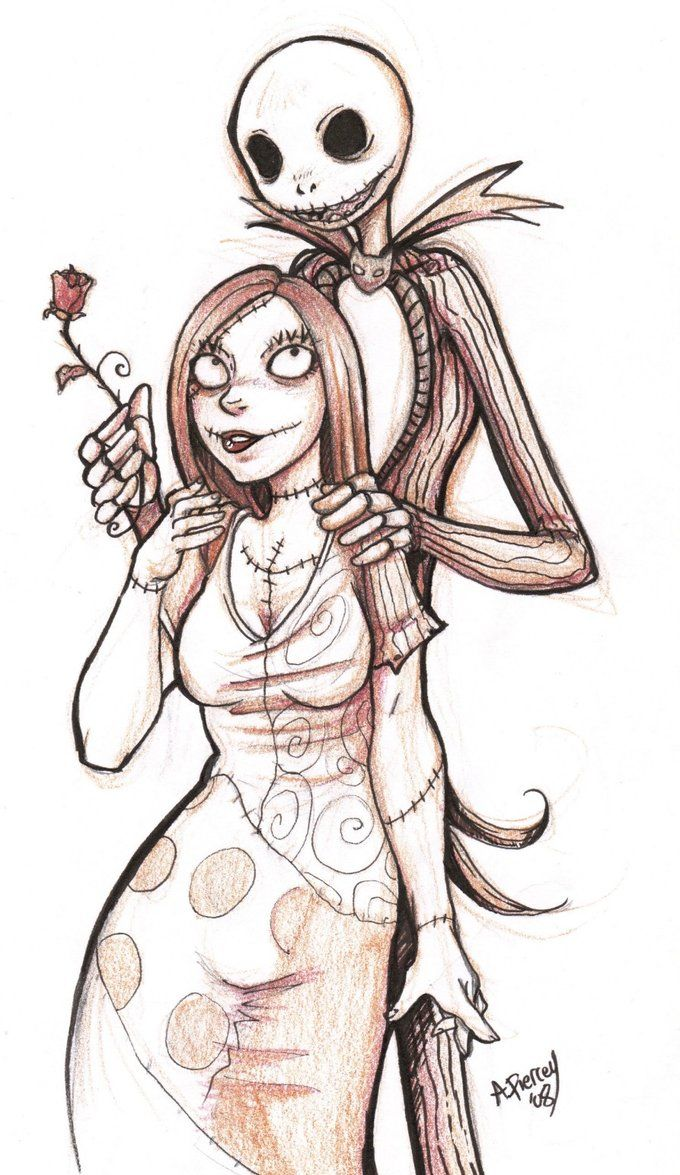 we can be like jack and sally by RenonVesir on deviantART