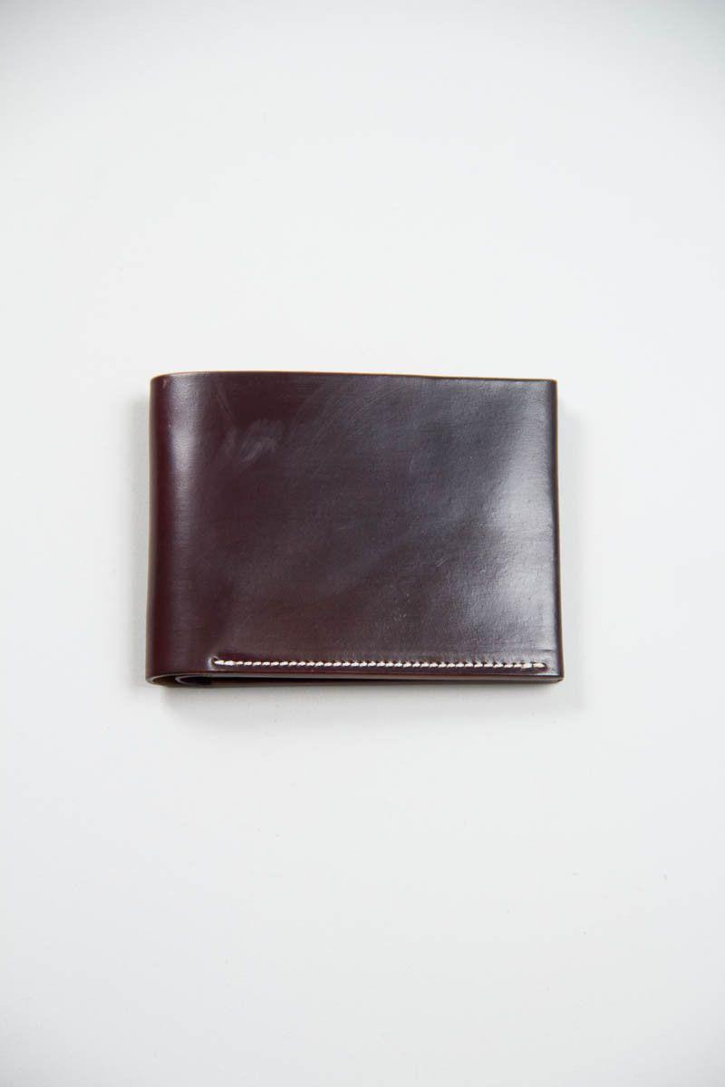 Color 8 Horween Cordovan 4/4 Wallet   KREIS