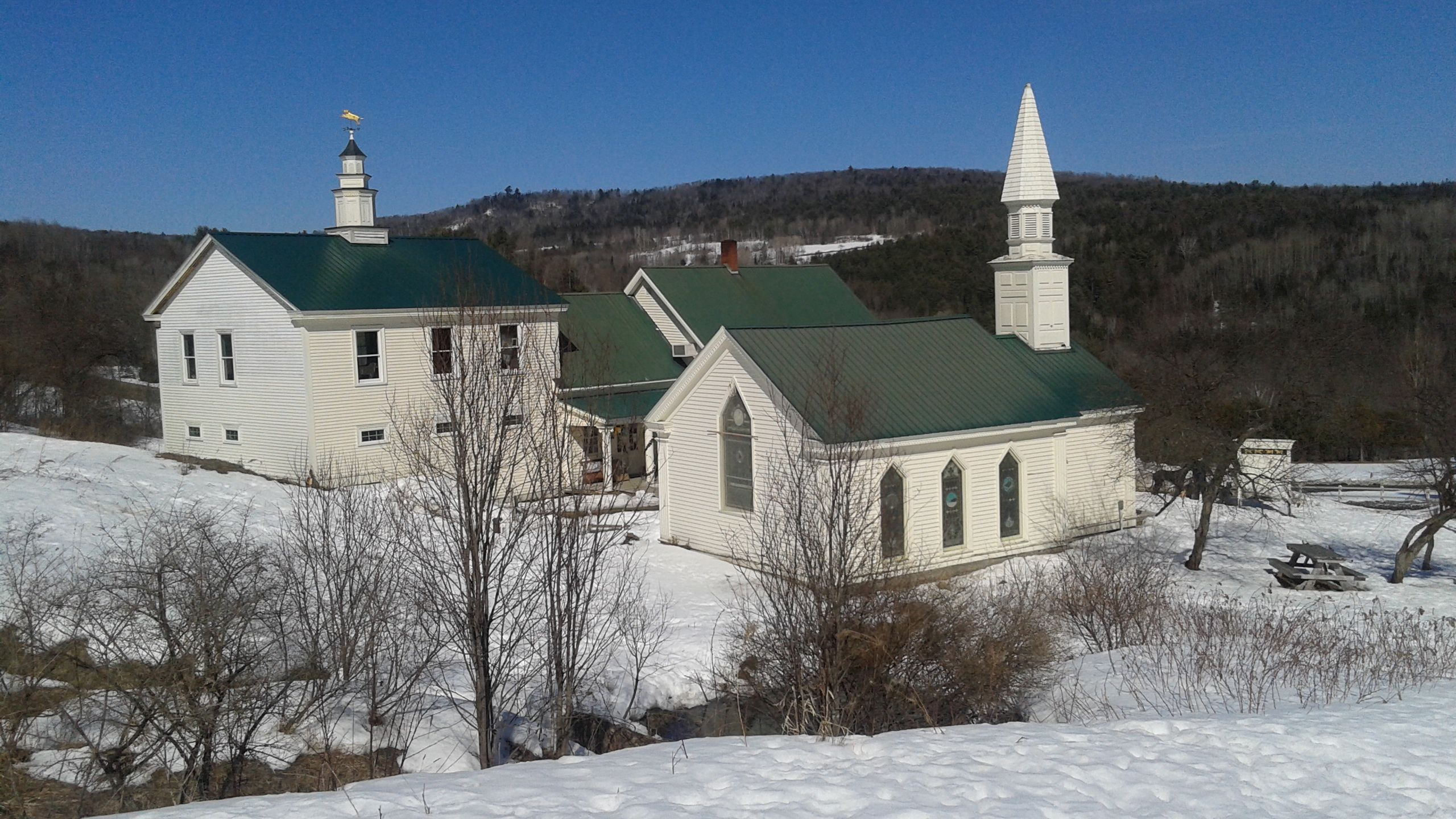 Visited The Dog Chapel In Vermont
