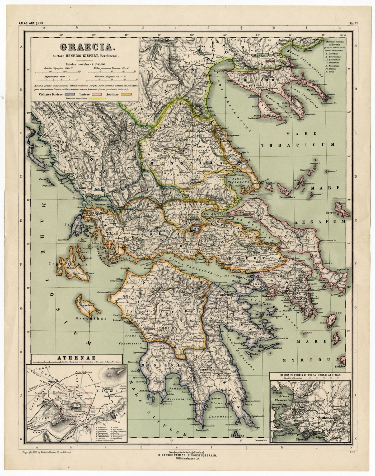 Pin by vintage magazines newspapers prints sleekburn on antique maps antique maps the greeks ancient greece ebay greek islands beautiful greek isles old maps gumiabroncs Choice Image