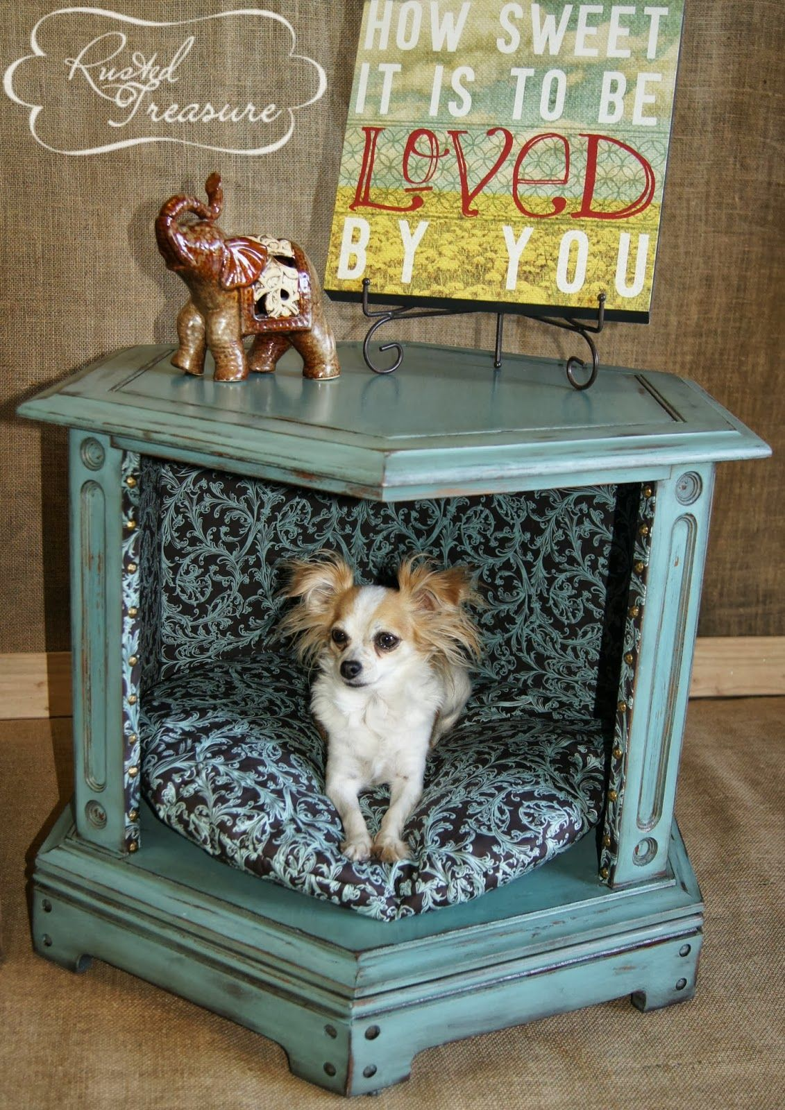 Diy Dog Bed End Table Thrift Stores