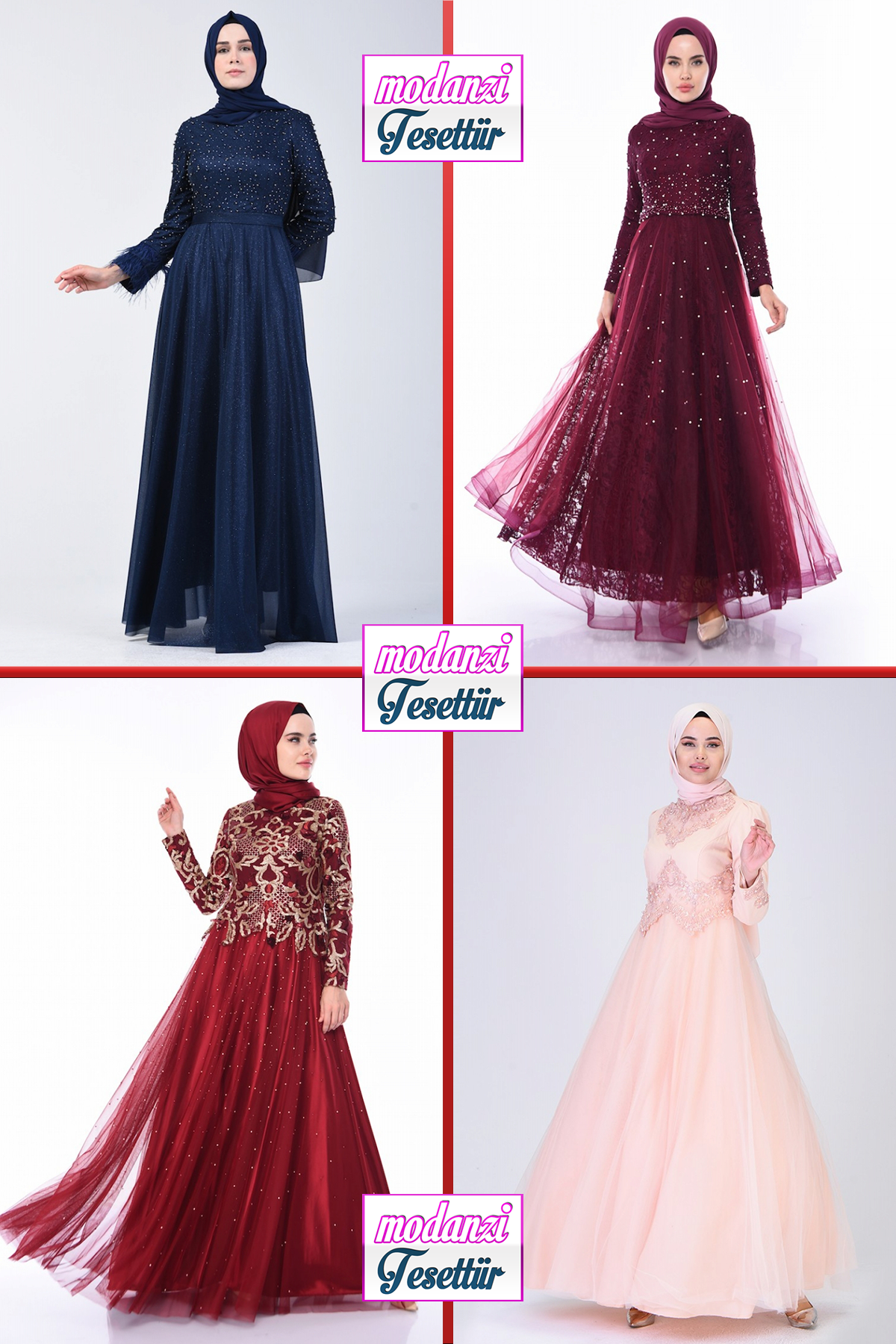 13] Sefamerve Tesettür Abiye Elbise Modelleri 13/13  Abendkleid