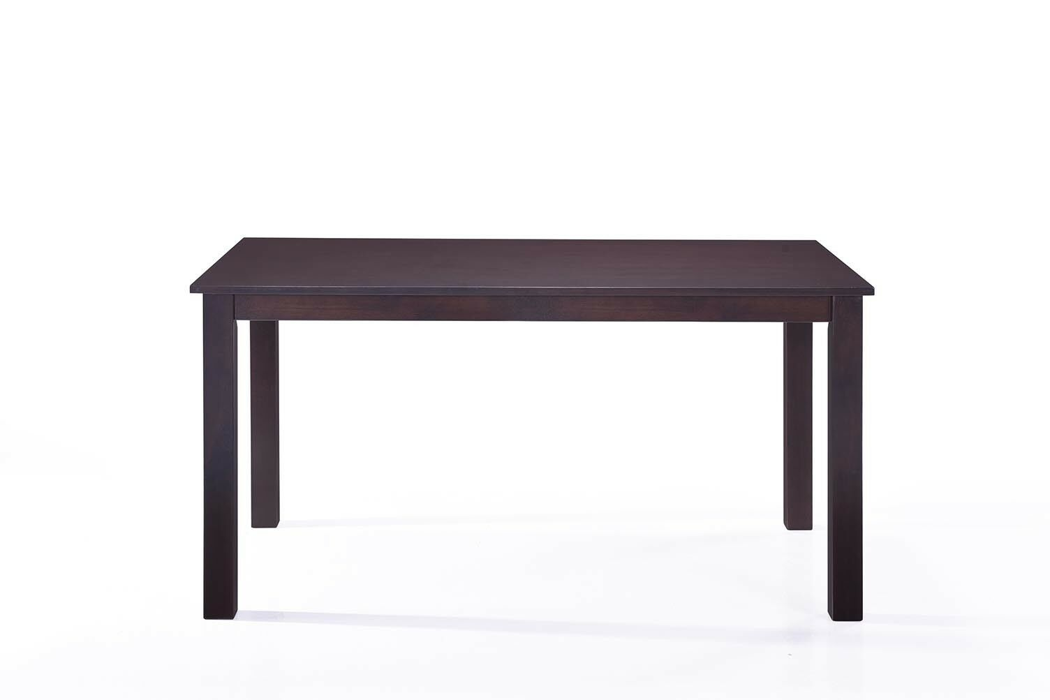 Details About 6 Person Dining Table Espresso Finish 36 X 60 Dining Table Solid Wood Dining Table Wood Dining Table