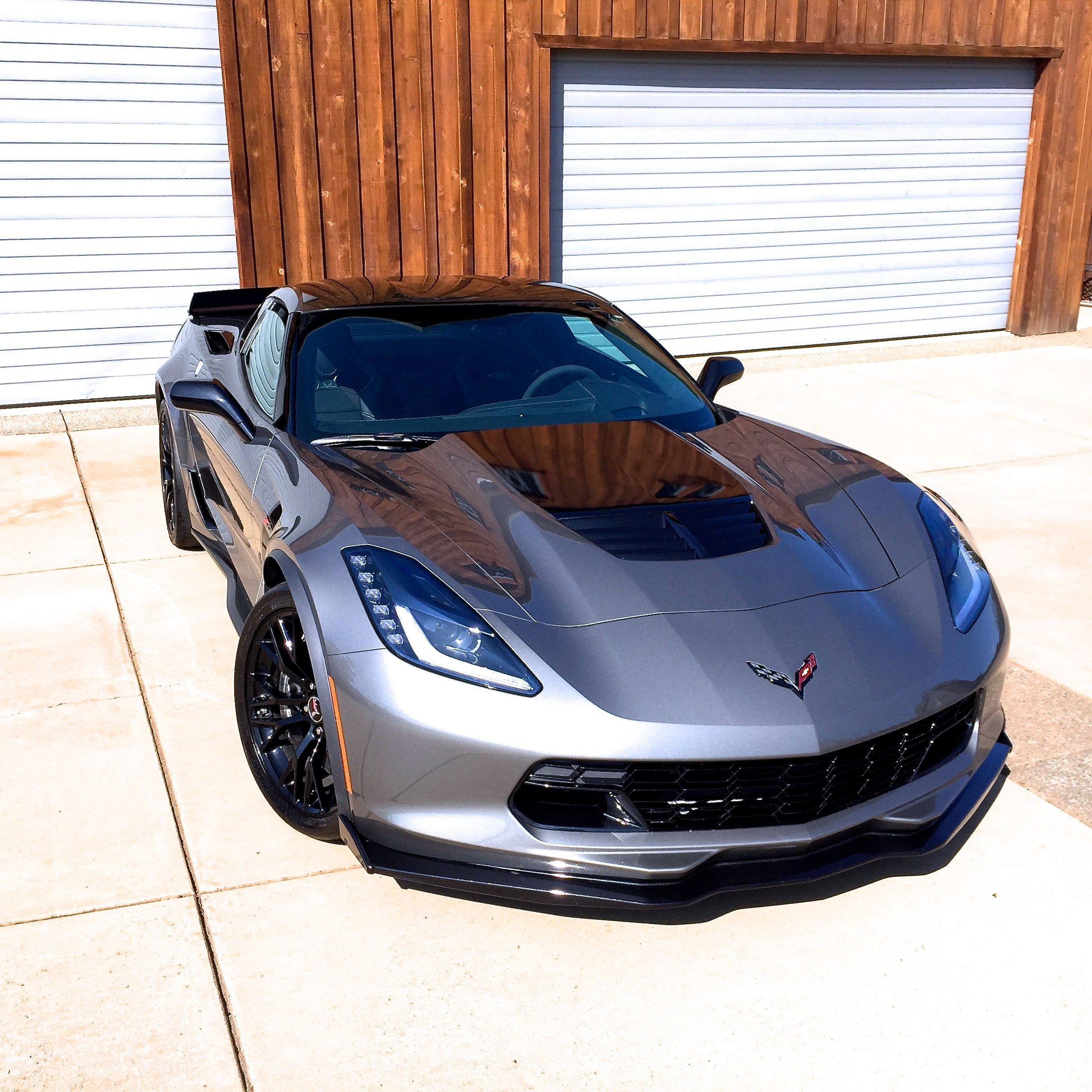 The Shark Grey C7 Z06/Z07 A8 Corvette Stingray