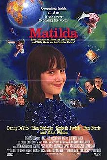Matilda was by FAR my fav as a little girl!!