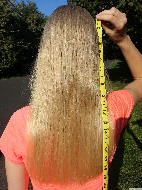 13 Inches Virgin Blond Hair | Blonde hair