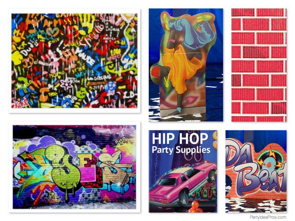 Google themes graffiti - Graffiti Theme Party Decorations Props