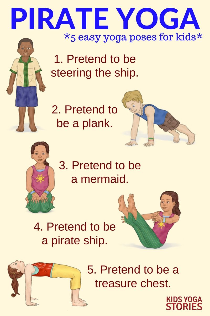 5 Pirate Yoga Poses For Kids