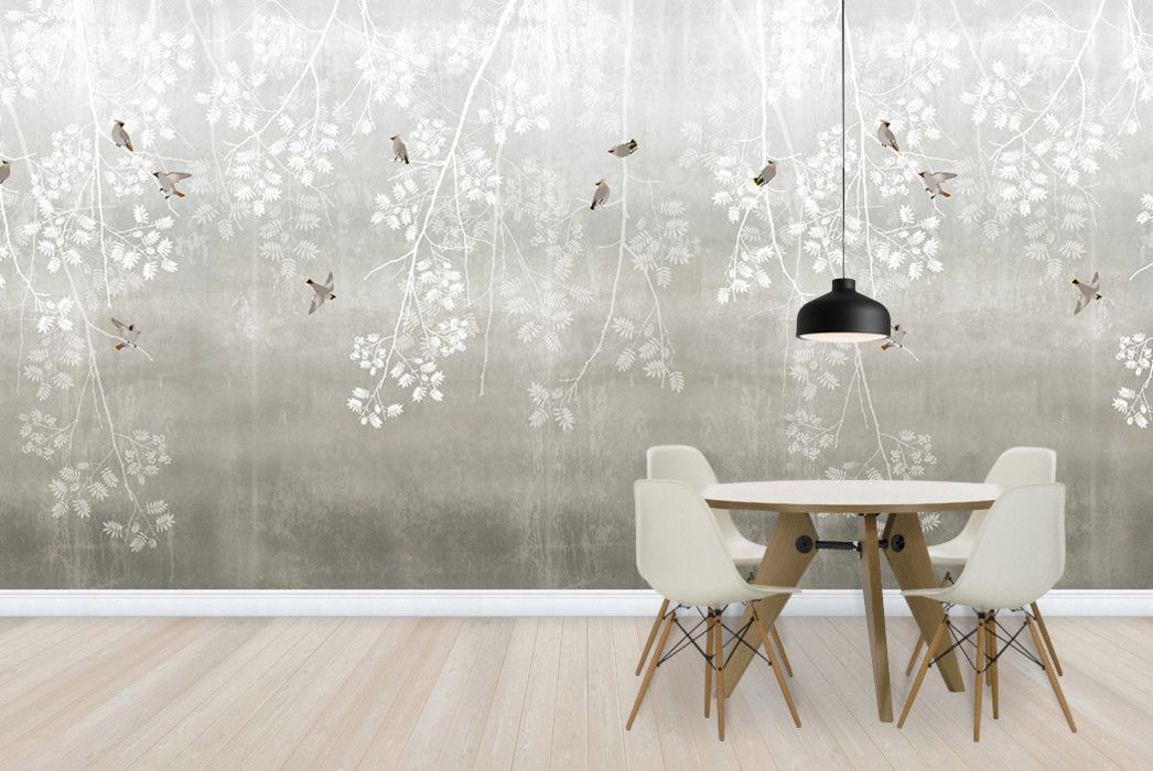 Bohemian Birds Nordic Moods New Wallpaper Collection