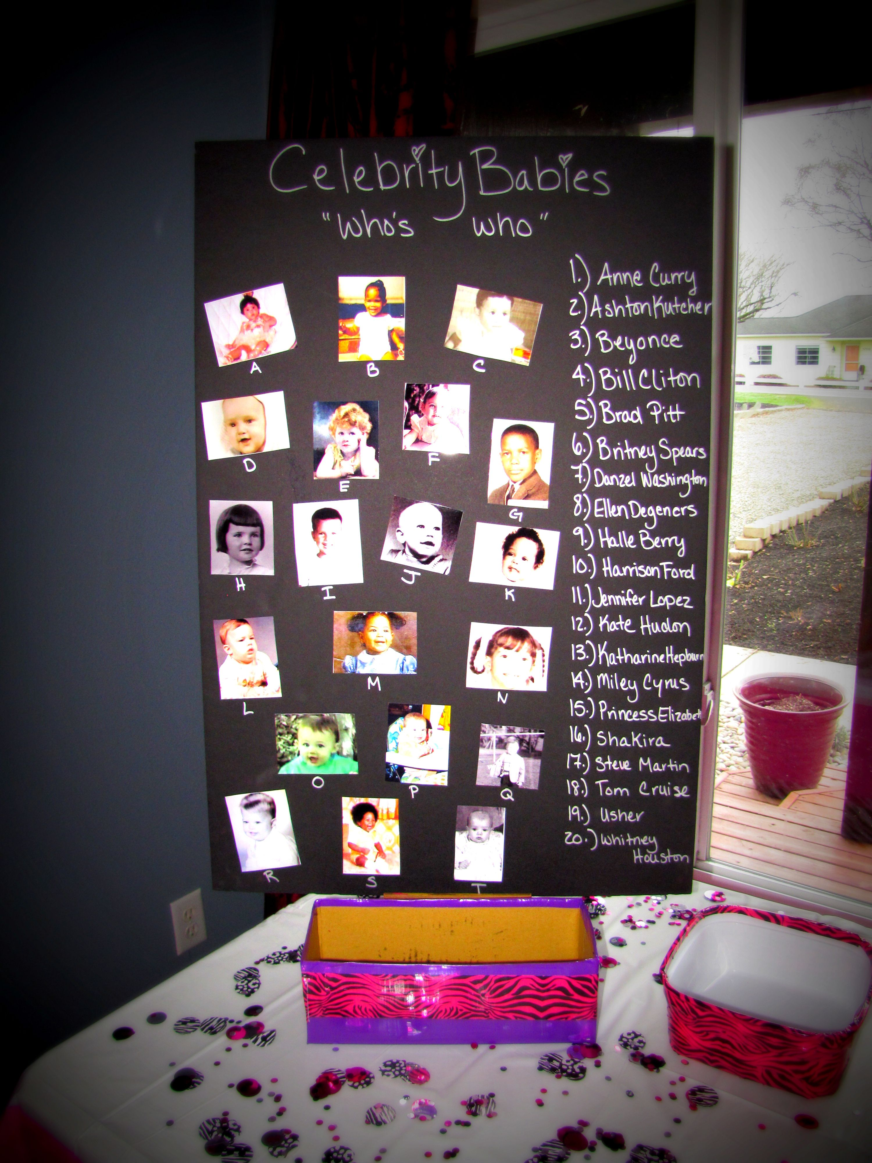 Celebrity ID Game - Group games, team games, ice breakers