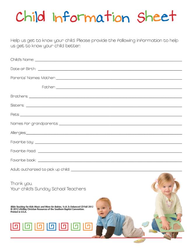 child information
