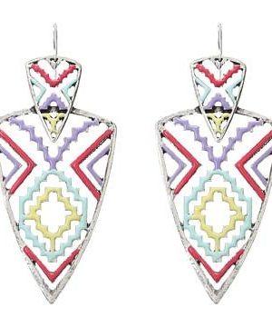 Gypsy SOULE Tribal Arrowhead Drop Earrings #accessories  #jewelry  #earrings  https://www.heeyy.com/suggests/gypsy-soule-tribal-arrowhead-drop-earrings-silver-multi/
