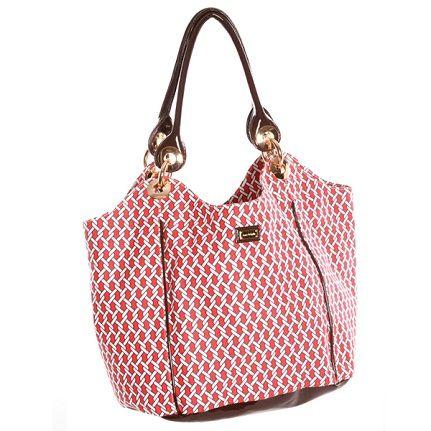 90e7003f7c1c Ame & Lulu Ladies Hobo Bags - Pier (Red & Navy) | Ame & Lulu Ladies ...
