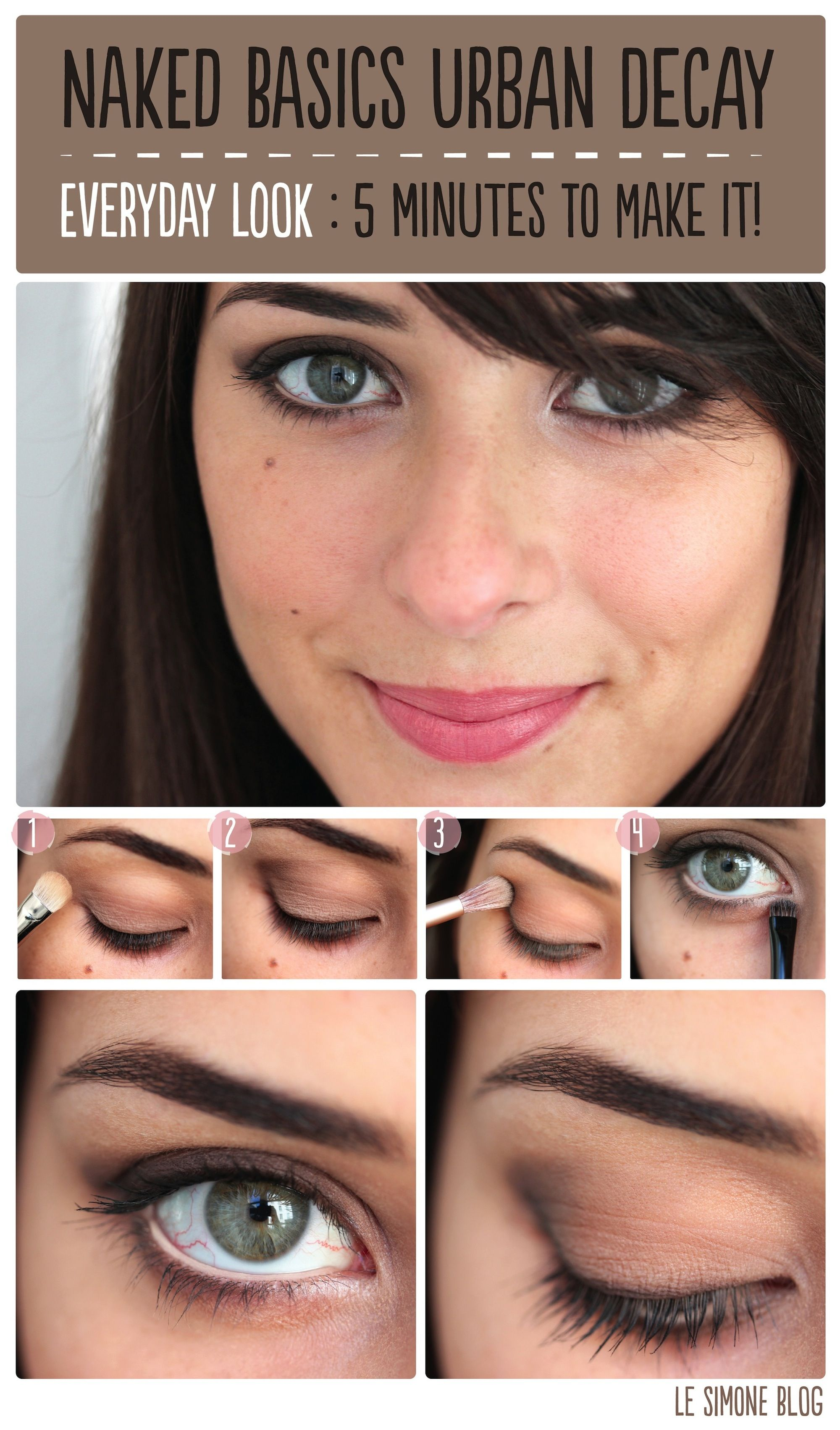 Favori Naked Basics Day Look1 Naked Basics Urban Decay : Back to Basics  GX25