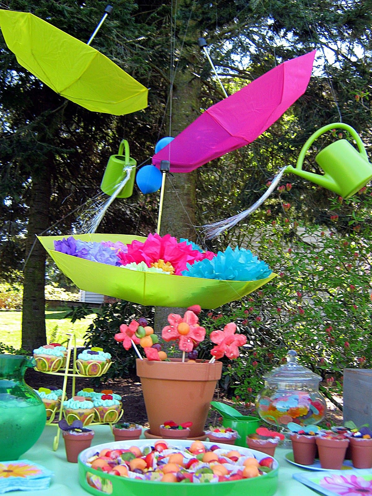 Sweet Petite Party Designs April Showers Bring May Flowers 2nd