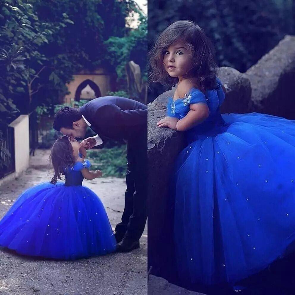 princess royal blue wedding dress,princess royal blue gown for kids,royal princess dress for kids,blue royal princess dress,royal princess gown for girls,royal blue real princess royal blue party dresses for girls,