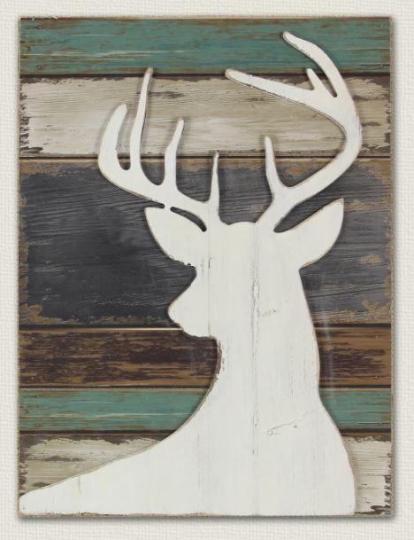 Deer - Barn Wood Sign