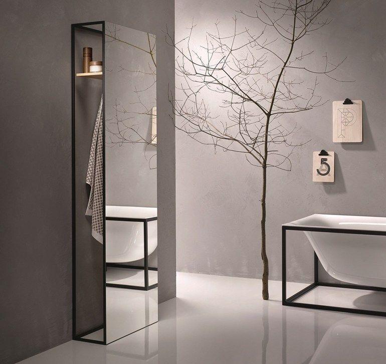 Specchio / porta accappatoio BETTELUX SHAPE | Specchio by Bette ...
